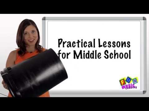 Practical Ideas for Middle School Music Lessons