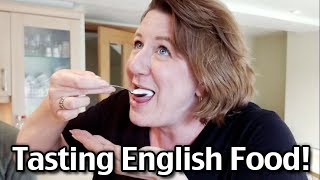British Food Tour! Americans Experiences Tasting Different English Food!