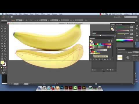 illustrator banana
