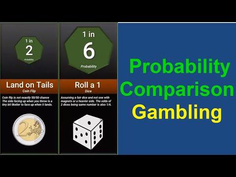 Probability Comparison Gambling|| data is beautiful