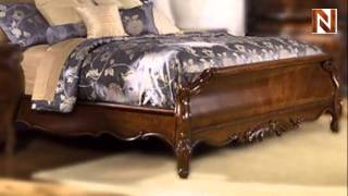 Bourbonnais King Sleigh Bed C7038-53-54-08 By Fairmont Designs