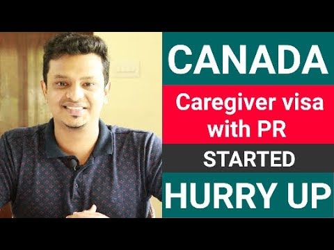 Canada Caregiver Visa With PR Started Hurry Up No LMIA Required Fully Explained In Malayalam