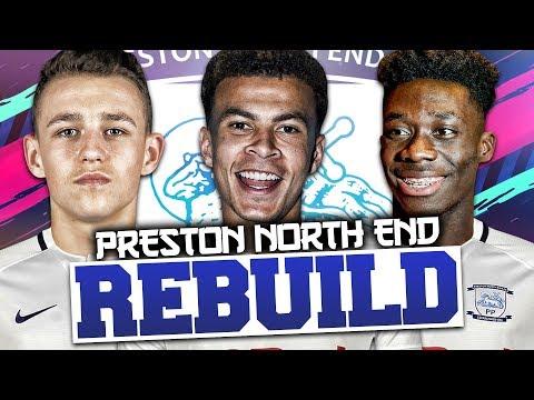 REBUILDING PRESTON NORTH END!!! FIFA 19 Career Mode