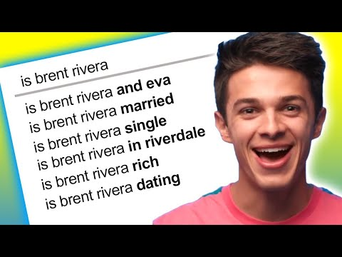 Brent Rivera Answers the Web&39;s Most Searched Questions