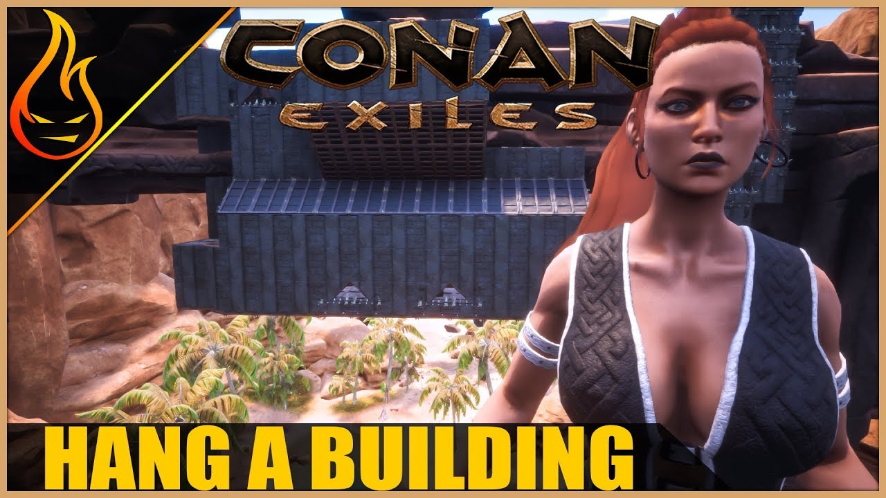 how to build in conana exiles