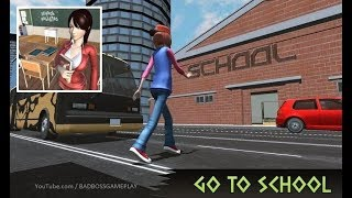 High School Girl Simulator: Love Story Games 2020 - Android Gameplay screenshot 5