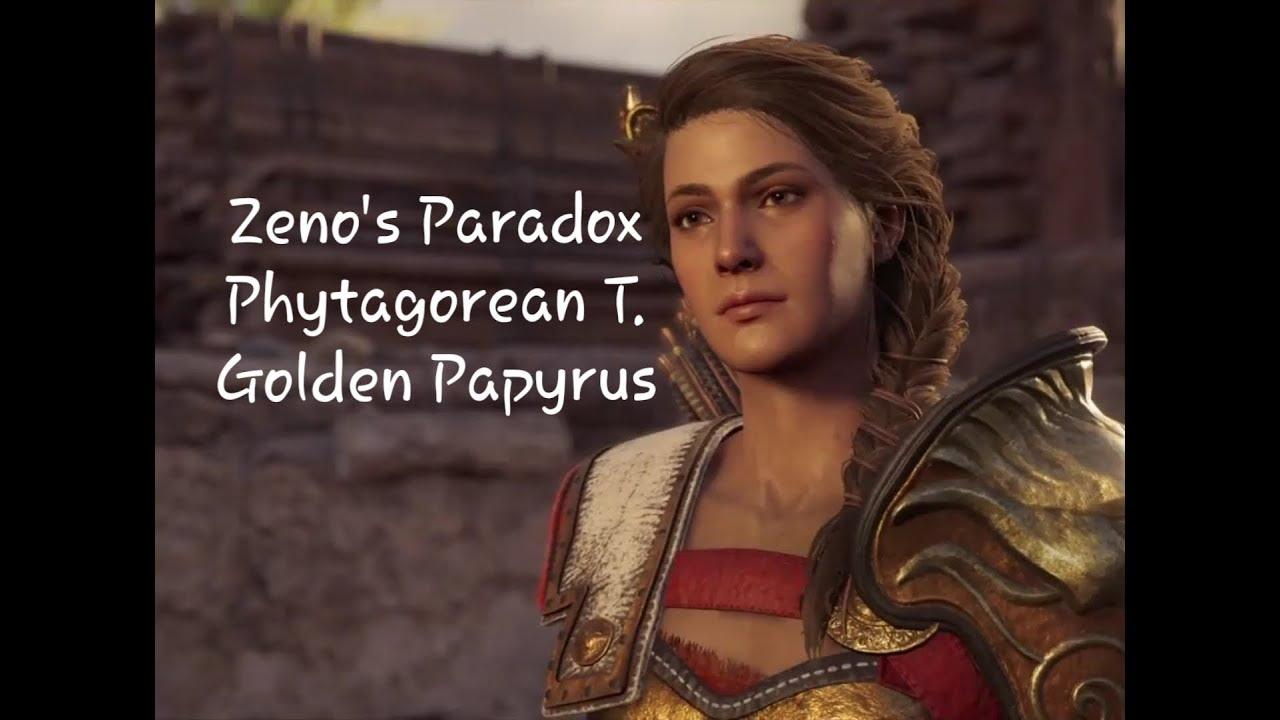 Assassin S Creed Odyssey The Dunce Of Conundrum Zeno S Paradox