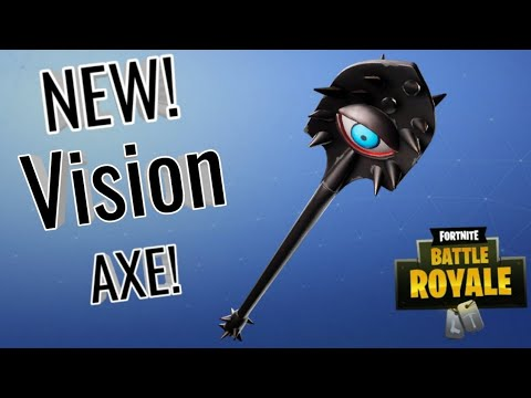 New Vision Pickaxe Sound And Review!