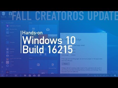 Windows 10 build 16215: Hands on with new Fluent Design, handwriting, keyboard, Microsoft Edge