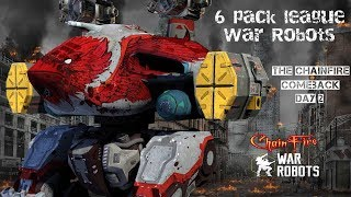 War Robots Live With ChainFire - 6/6 hangers - Day 2