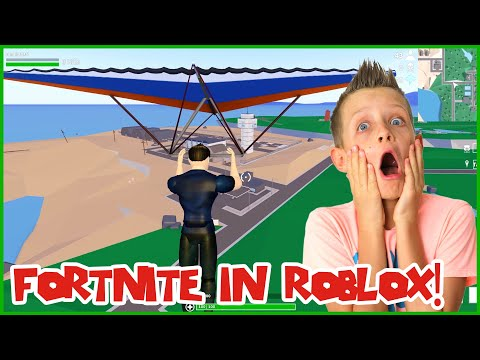 THIS ROBLOX GAME IS BETTER THAN FORTNITE!!!