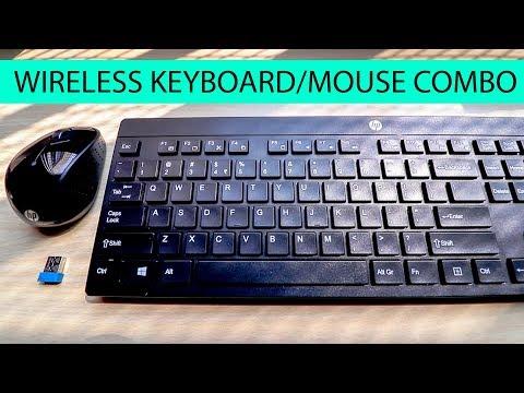 HP Wireless Keyboard/Mouse Combo