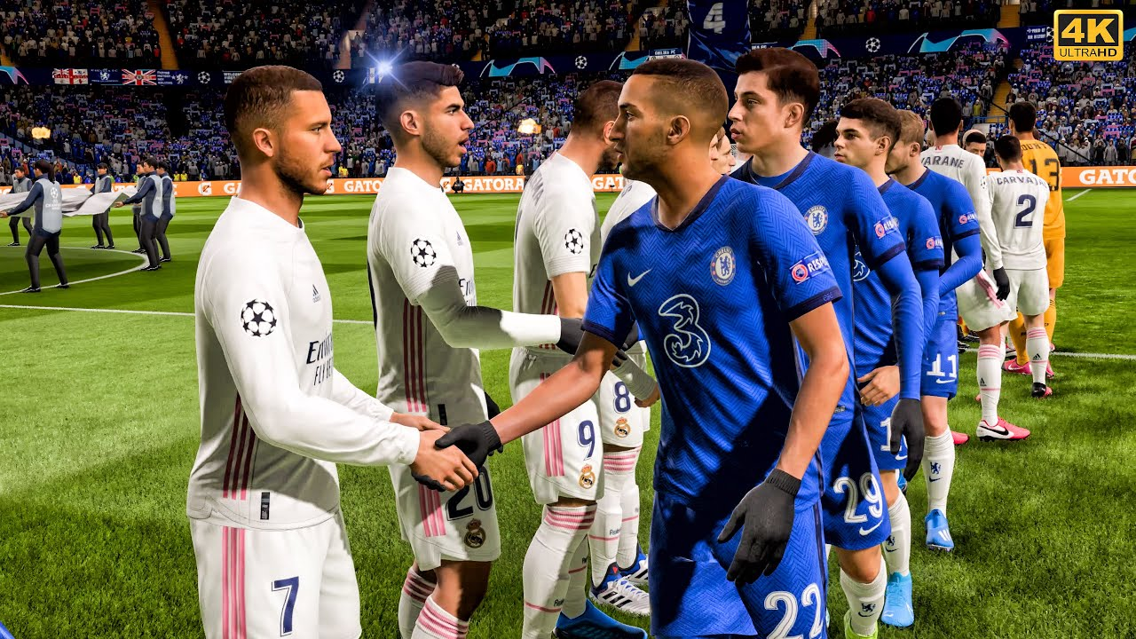 CHELSEA - REAL MADRID | Champions League 2021 | Gameplay ...