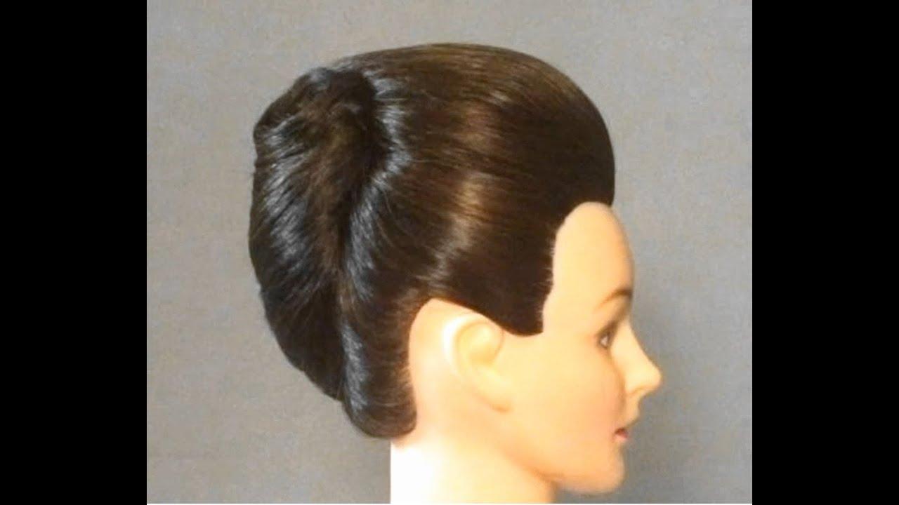 Как сделать причёску ракушка на средние волосы