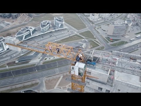ЖК Лазурит (140м) | The Highest Building In Belarus [English Subtitles]