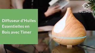 Wood essential oil diffuser - Silumen Wood essential oil diffuser - Silumen Diffuseur d'huiles essentielles en bois - Silumen