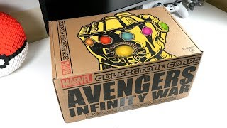 Unboxing Avengers Infinity War Subscription Box thumbnail