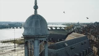 Confinement : Bordeaux ville fantôme vue du ciel