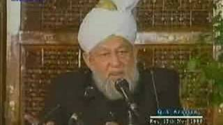 Islam -English Q/A session -1996-11-17 - Part 4 of 10