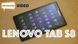 Обзор Lenovo Tab S8: тонкий планшет с LTE и стереодинамиками
