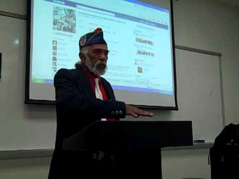 American GI Forum Jose Maria Vasquez Speaking To MASC