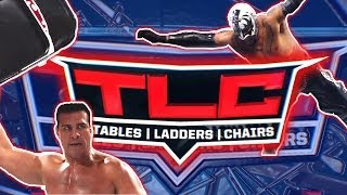 WWE TLC: Tables, Ladders and Chairs - TONIGHT