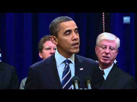 President Obama Speaks on Landmark Housing Settlement with Banks