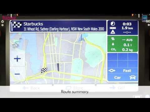 Australia IGO Primo GPS Software With NAVTEQ Map Operating On Tunez Aftermarket Toyota Head Unit