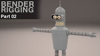 How to create Bender in Maya - 04 Rigging
