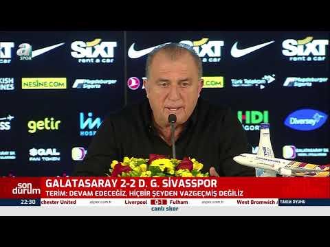 Fatih Terim Maç Sonu Basın Toplantısı Düzenledi! (Galatasaray 2-2 Sivasspor) / 07.03.2021
