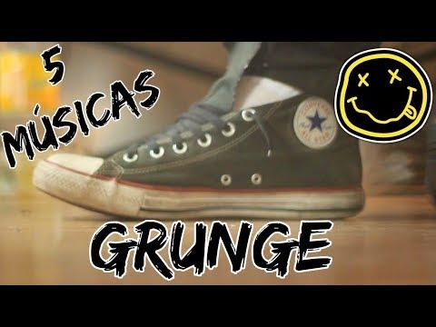 5 Músicas Famosas do GRUNGE por Fabio Lima