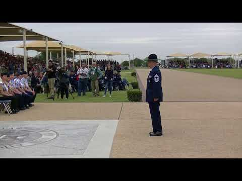 Air Force Basic Military Training Parade, 20 April 2018 (Official)