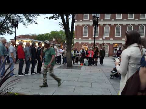 Street Performance at Faneuil Hall by YAK Crew