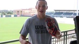 Glove Story: Carlos Correa (Wilson Glove Day Behind-the-Scenes Access)