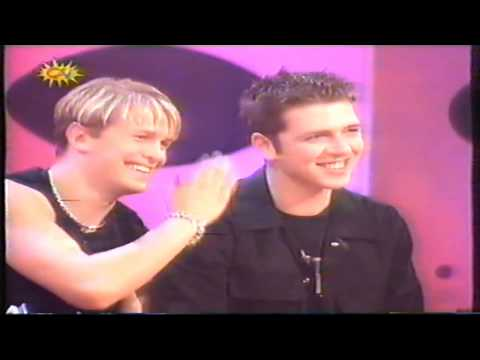 Westlife present SMTV with Cat Deeley - 7th August 1999 - Part 1 of 3