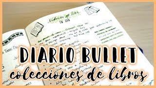 Colecciones de LIBROS para tu #DiarioBullet · Bullet Journal | Christine Hug