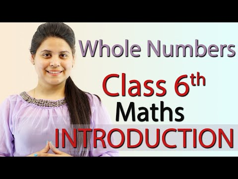 Introduction – Whole Numbers – Chapter 2 – Class 6th Maths