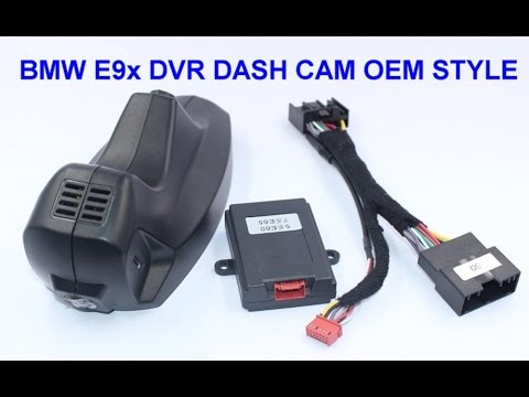 Exclusive BMW 3 Series OEM Style Hidden Dash Cam DVR  Unboxing!