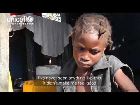 Hurricane Matthew in Haiti: Through a child's eyes | UNICEF USA