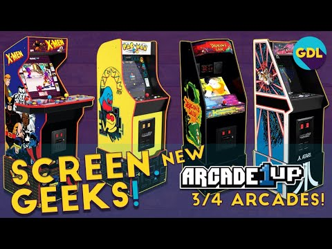What New Arcade1Up Should I Get? New Dragons Lair, X-Men, Pacman and more for 2021! from Geek. Dad. Life.