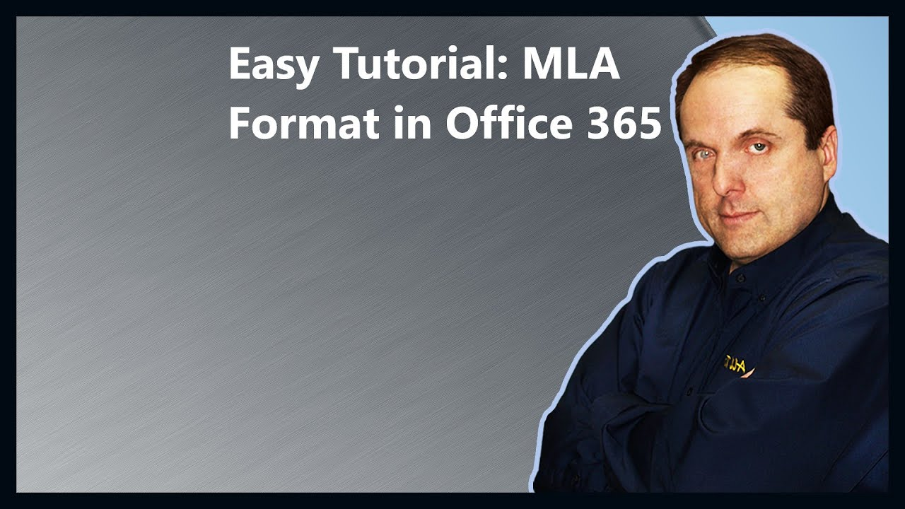 easy tutorial  mla format in office 365