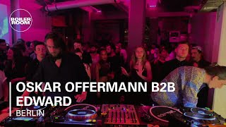 Oskar Offermann B2B Edward Boiler Room Berlin DJ Set