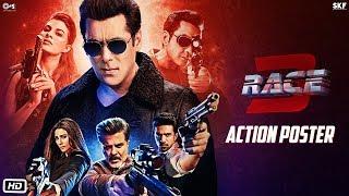 Race 3 Action Poster | Salman Khan | Remo D'souza | #Race3ThisEid