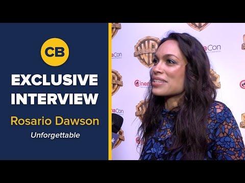 EXCLUSIVE Interview: Rosario Dawson - CinemaCon