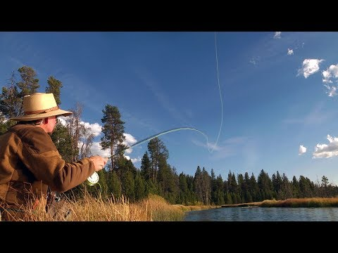 Fly Fishing Yamsi - Oregon Spring Creek By Todd Moen