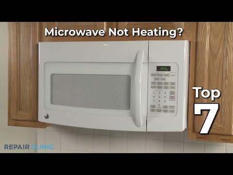 ge microwave microwave not heating