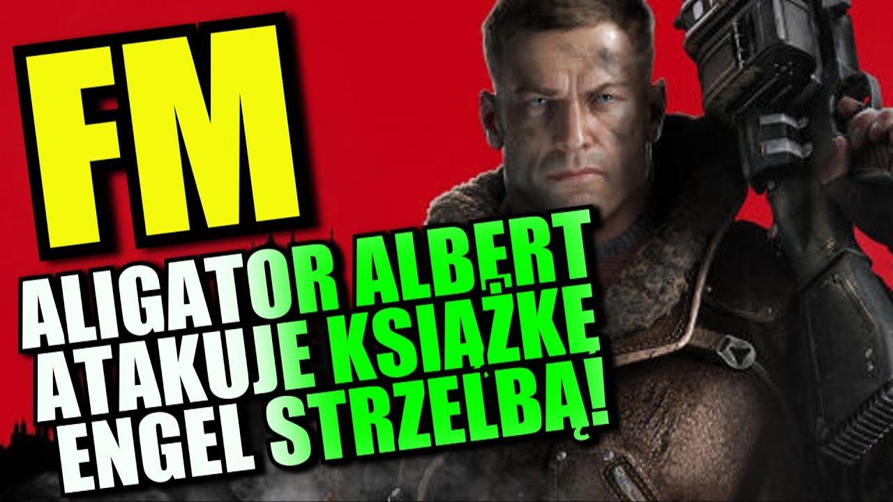 ALIGATOR ALBERT ATAKUJE KSIĄŻKĘ ENGEL STRZELBĄ!