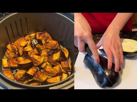 Air Fryer Eggplant Recipe