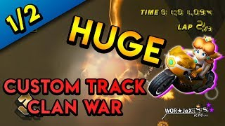 Mario Kart Wii Custom Tracks - Team World vs. Final Stand - Clan War Part 1