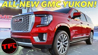 The 2021 GMC Yukon Is A XXXL American SUV - See It Here First!